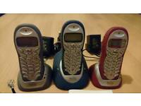 Binatone Triple Cordless Telephone