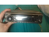 sony cd player/car stereo