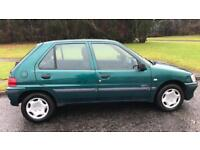 CHEAP 5 DOOR PEUGEOT 106 1.1L ZEST (2001) year mot