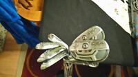Full set of Adams irons. Idea tech a4 (used)