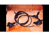 Tektro hydraulic MTB brakes
