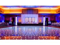 Dance floors From **£150** LED Dance floor / Starlit Dance floor **£150**
