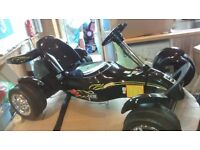 electric ride on Go-Kart (12 volt two speed)