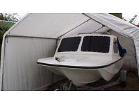 Wilson Flyer Taskforce 17ft Fishing Boat + Outboard + Trailer