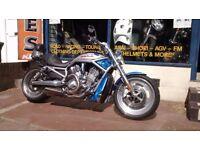 Harley-Davidson V ROD 1130cc Year 2008 MOT &and 3 Months warranty