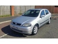 2004 vauxhall astra 1.6 active in immaculate condition tax and tested