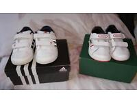 Young boys trainers size 4