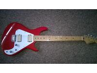 Vintage Kawai Aquarius Electric guitar model AQ420. 1980s Japan