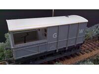 00 Model Railways Hornby Triang GWR break van