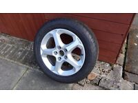 Wheel for ford Mondao with tyre 6mm tread