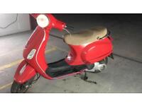 Vespa lx 125 3 valve registered as 50cc 2006