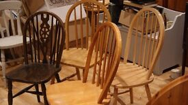 4 Dining Chairs make great shabby chic project