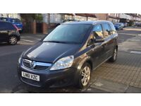 Vauxhall Zafira 2011 with leather seats