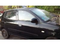 Picanto facelift 2009 black5dr. Drivers dropglass £25/ breaking