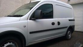 vauxhall combo 2006, side door, small van