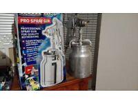 Clarke Pro spray gun