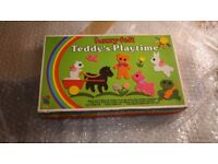 Teddy's Playtime. Vintage game from the 1970s