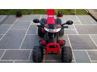 Children's Battery Quad Bike from 3 + years