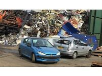 SCRAP CARS COLLECTED FOR FREE SOME MODELS PAID FOR