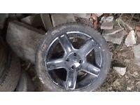 peugeot 307 alloy wheels 17 inch