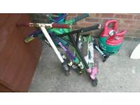 JOBLOT OF OLD Razor scooters STILL WORk £15 no offers