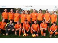 Players needed for Sunday league men's team