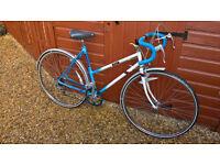 """raleigh riva ladies racing bike 5 speed 20.5"""" frame 700c wheels"""
