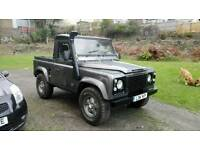 Defender 90 may px tipper, enduro road legal