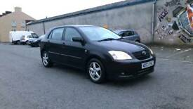 TOYOTA COROLLA 1.4 VVTI T3 1 OWNER FROM NEW