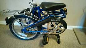 Classic 80s Dahon getaway folding compact bike