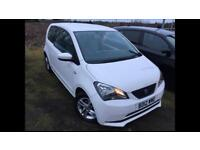 Seat mii 2012 12 plate 1.0 ecomotive 3 door hatchback service history mot alloy wheels
