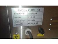 55cm Electric Griddle Half Ribbed for sale