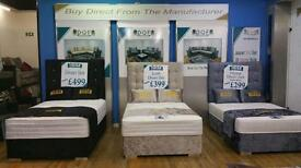 "Top Quality 4""6 Mattress with Bed Set from ONLY £199"