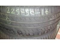 225/50/16 used tyre