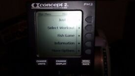 Concept 2 Rowing Machine (PM3) in good condition, needs a new home