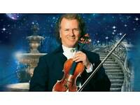 Andre Rieu Tickets - FRONT ROW VIP SEATS - Wembley Arena, London - 22nd December