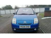 CITROEN C2 AUTOMATIC 1.4,LOW MILEAGE,LONG MOT,04-REG 2004,CLEAN CAR,£725 ONO CHEAP