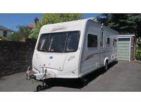 Luxury 'top-of- the-range' 4 berth caravan - Bailey Senator 'Indiana' 2006 Series 5