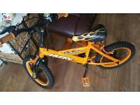 Child boy bike