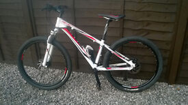 """Giant Revel 1 Mountain Bike: Alu dbl butted 14"""" XS frame, 26"""" wheels & Front Suspension"""