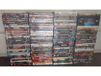 250 DVDs (approx). Bridge of Weir