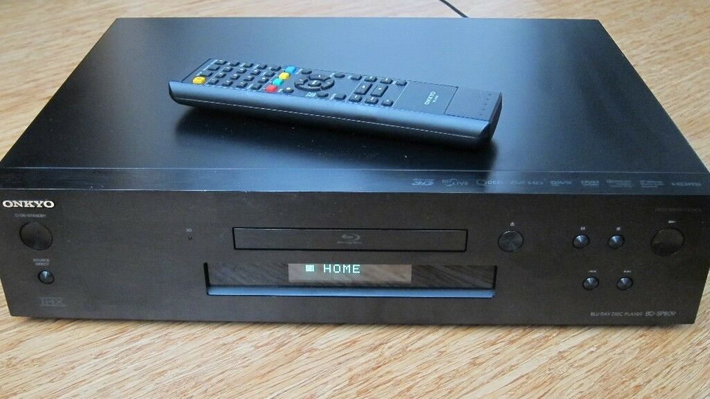 ONKYO BD-SP809 BLU-RAY 3D DVD PLAYER BLACK BDSP809 with remote | in Southwark, London | Gumtree