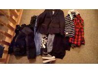 age 4/5 boys clothes bundle