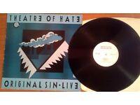 Theatre Of Hate – Original Sin · Live, VG, released on Dojo in 1985.