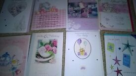 Greeting cards, Qty 140