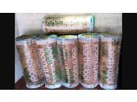 "Loft insulation ""Knauf Earthwool"" 200/150mm rolls"