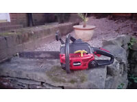 """HOMELITE 16"""" PETROL CHAINSAW CHAIN SAW, READY FOR WORK"""
