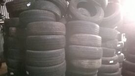 Car Tyres approx 350+ excellent treads