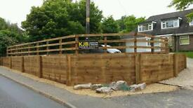 KJB Landscape & Fencing services. Professional Fencing & Landscaping in Norwich & Norfolk