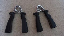 Hand grip gym or strengtheners (set of 2)
